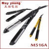 M516 Hair Straightener with Straighten and Curl 2 in 1 Plate Design