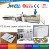 Jwell-PE Plastic Stone Paper Sheet Recycling Agricultural Making Extrusion Machine Adopt Casting Calendaring Process Technology for Printing Packaging