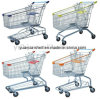 Asian Style Supermarket Shopping Cart Trolley Made in China