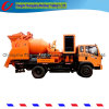 25-40cbm/H Mobile Concrete Pump with Js750 Concrete Mixer Cx40.8.37s