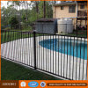 1200mm High Security Black Steel Flat Top Pool Fence for USA Ca Au Nz Market