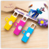 Plastic PP Colorful Food Bag Clip Set of 3 (16.2*1.7*1.7cm)