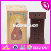 Wholesale Cheap Flat Roof Wooden Incense Holder for Sale W02A260