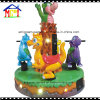 Merry-Go-Round Dino Carousel Coin Operated Machine Kiddie Ride