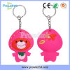 RFID Soft PVC Pink Key Tag in Hot Cartoon Figure Shape