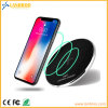 Ultra-Slim Metal Fast Wireless Charger Pad Support 7.5W Quickcharge iPhone 8/X/8 Plus