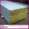 100mm Fireproof Steel Rock Wool Panel Sandwich