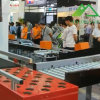 Automatic Steerable Wheel Sorter for Parcels in E-Commerce Warehouse