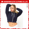 Hot Selling High Quality Crop Hoodies Women (ELTHI-14)