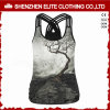 Wholesale Fashionable Printing Cheap Activewear Tank Tops for Women (ELTCI-63)