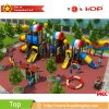 Hot Sale Kids Outdoor Playground with Plastic Slide