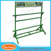 Exhibitor High Capacity Metal Grass Storage Rack Displays Stand with Wheels