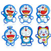Doraemon PVC Rubber Garden Shoes Buckle for Kids