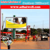 Double Support Column Outdoor Advertising LED Backlit Billboard