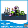 Kids Plastic Outdoor Playground Equipment for Amusement Park (QL14-008A)