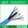 Rg6HD Composite Cable with LAN Cable CAT6 for Network