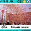 150W 10 Meters Remote Paper Wedding Stage CO2 Confetti Cannon Machine