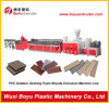 High Quality Smart Programed Control WPC Door Panel /Wall Panel Extrusion Equipment/ Wood Plastic Extrusion Machine Line