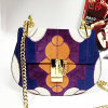 Designer Ltaly Genuien Leather Handbags Mosaic Leather Bags Emg4686