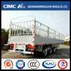 Cimc Huajun 3 Axle Hot High Tense Steel Stake Trailer for Export