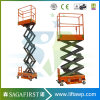 3m 4m Semi Electric Mobile Small Indoor Mini Scissor Lift