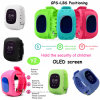 Time/Date Display Kids Safety GPS Tracker Watch with Sos Button Y2