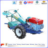 Two Wheel Walking Tractor with Trailer, Plough, Cultivator