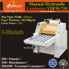 Ydfm-720 600mm 60cm Paper Manual Hydraulic Thermal Hot Coated Film Roller Laminator