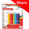 Blister Card Packing 120g 8 Colors Kids Plasticine Modelling Clay