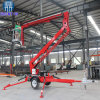 High Quality Trailer Lift Tow Behind Towable Boom Lifts for Sale