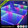 3D Mirror Abyss Dancing Panel LED Dance Floor Starlit Dance Floor for Stage Party Wedding Events Show