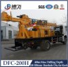 200m Deep Dfc-200h Used Underground Water Well Drilling Rig Machine