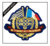 Embroidery Patch with Golden Thread/Special Thread Patch (BYH-10975)