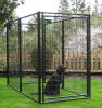 Outdoor Powdering Coated Weld Wire Mesh Dog Kennel/Dog Cage/Dog House