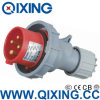 32A 400V 3 Phase Mobile Plug with IEC Standard (QX-282)