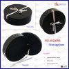Hat PU Leather Round Storage Box (5506R6)