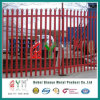 Powder Coated Palisade Fence/ Picket Security Tubular Steel Fence