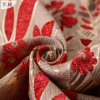 Flower Design Chenille Jacquard Fabric 330GSM