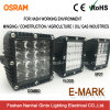 Super Illumination Square 7inch Osram LED Driving Light for Offroad (GT1007Q)