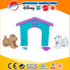 New Arrival Lovely Pretend Play Plastic Toys Dog House Play Set for Kids