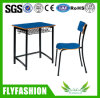 Modern School Classroom Furniture Single Desk with Chair (SF-77S)
