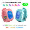 Multiple Languages Kids GPS Tracker Watch with Sos Button (H3)