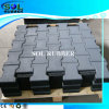 Certificated Solid Color Outdoor Dog Bone Rubber Tile