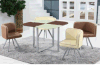 Hot Selling Modern Glass Dining Set, Dining Table and Chair, Dining Room Furniture