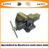 6''/150mm Quick-Release Bench Vise Swivel Base with Anvil