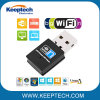 Mini USB Wireless WiFi Adapter 300m Portable USB 2.0 Network Card USB WiFi Receiver Adapter