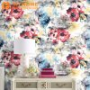 Modern New Rose Floral Design Wallcovering Paper Wall Paper 3D