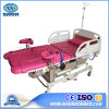 Aldr100A Medical Equipments Hydraulic Childbirth Table Obstetric Delivery Bed