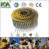 15 Degree Wire Collated Coil Nails 2-1/4′′x0.099′′ (57mm X 2.5mm) Screw Yellow Coated