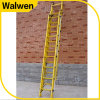Made in China FRP Pedal Fully Insulation 2 Section Fiberglass Extension Ladder
